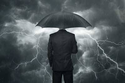 man-in-storm